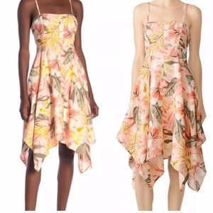 Joie Dress Phara Linen Floral Sleeveless Shift NWT